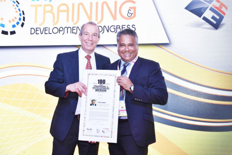 100 Top Training & Development Minds (India) Sri. Yusuf Garari Garu, General Manager – Recruitment & Training